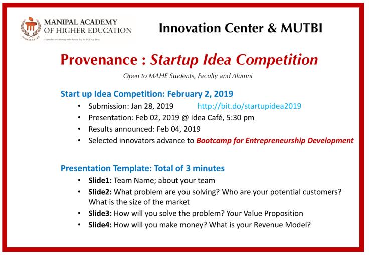 startup idea innovation center arunshanbhag idea Cafe
